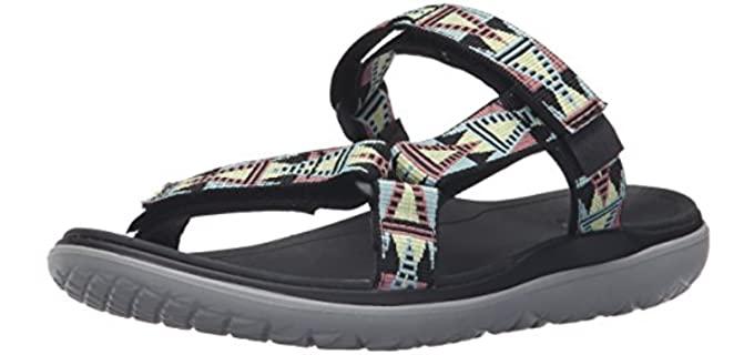 Teva Women's Terra Float - Sandal for Narrow Feet