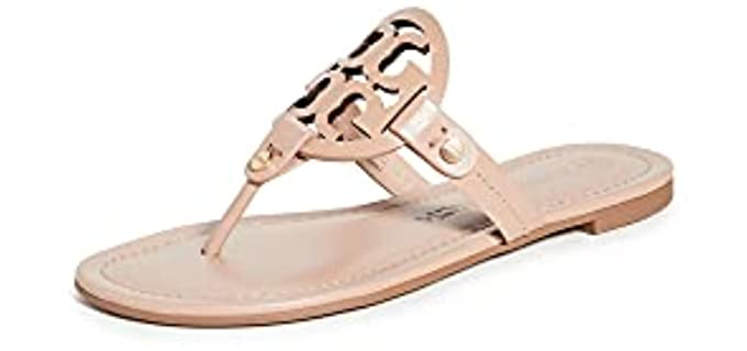 Tory Burch Women's Miller - T-Strap Slide Sandals