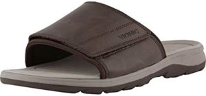 Vionic Men's Canoe Stanley - Dress Sandals for All Day Walking