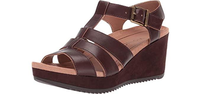 Vionic Women's Hoola - Platform Orthopedic Sandals