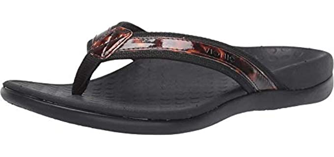 Vionic Women's Tide 2 - Flip Flop for Bunions