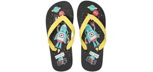 Ataiwee Girl's Beach - Flip Flops for Kids