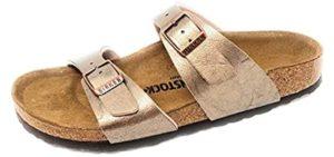 Birkenstock Women's Sydney - Sandal with Soft Footbed