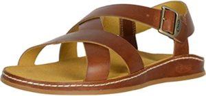 Chaco Women's Wayfarer - Leather sesamoiditis Sandals