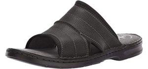 Clarks Men's Malone - Open Toe Dress Sandal