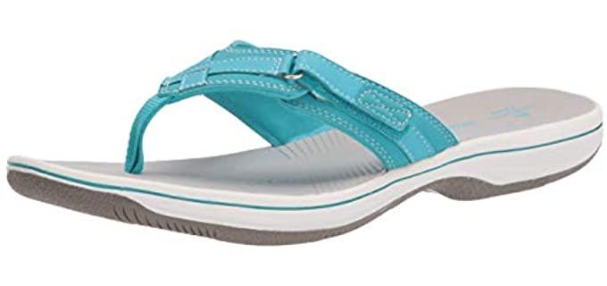 Clarks Women's Breeze - Sandals for Nurses