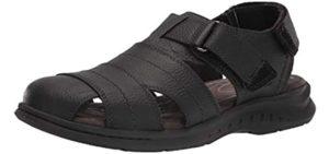 Clarks Men's Hapsford Cove - Sandals for Plantar Fasciitis