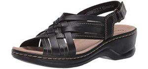 Clarks Women's Lexi Carmen - Sandals for Plantar Fasciitis