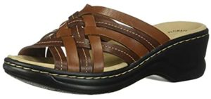 Clarks Women's Lexi Selina - Sandals for Plantar Fasciitis
