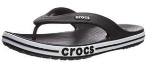 Crocs Men's Bayaband - Flip Flops for the Shower