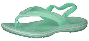 Crocs Girl's Crocband - Kids Flip Flops