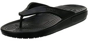 Crocs Men's Classic Flip - Sandal for Plantar Fasciitis