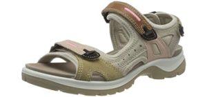 ECCO Women's Yucatan - Sandal for Hiking