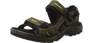 ECCO Men's Yucatan - Sandals for Driving