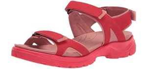 ECCO Women's Yucatan - Sandals for Driving