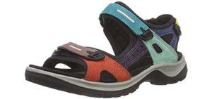 ECCO Women's Yucatan - Big Feet Outdoor Sandals