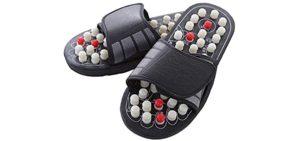 Evalaina Men's Acupoint - Massage Sandals