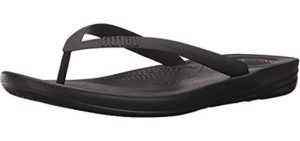 FitFlop Men's Iqushion - Comfortable Flip Flops for Walking