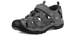 Grition Men's Hiking - Open Hiking Sandals