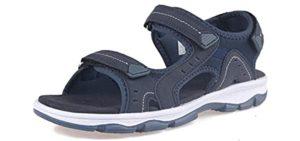 Grition Women's Open Toe - Walking Outdoor Wear Sandals