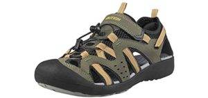 Grition Men's Fisherman's - Athletic Hiking and Walking Sandals