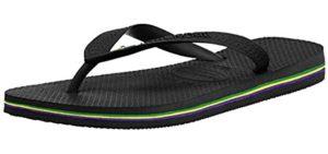 Havaianas Men's Unisex - Beach Flip Flops