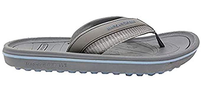 Margaritaville Women's The Foot Wedge - Golf Sandals for Ladies
