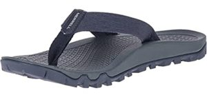 Merrell Men's Breakwater - Flip Flops for Walking Long Distances