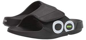 Oofos Men's Sport Flex - Slide Sandals for Plantar Fasciitis