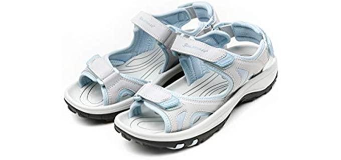 Orlimar Women's Light Blue - Golf Sandals