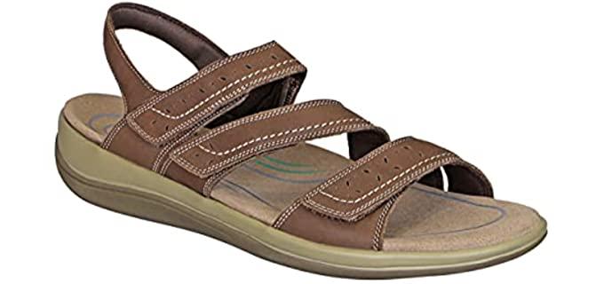 Orthofeet Women's Naxos - Sandals for Plantar Fasciitis