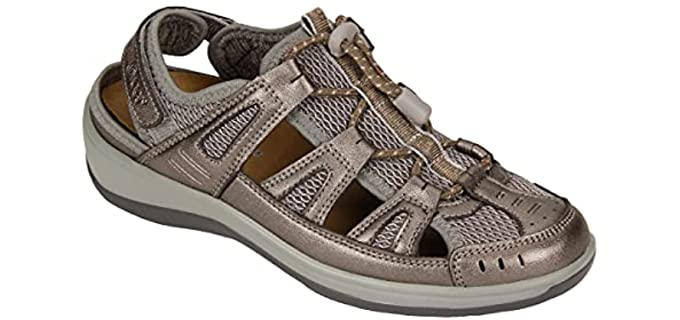 Orthofeet Women's Verona - Plantar Fasciitis Sandals