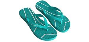 Shower Shoez Women's Non-Slip - Showering Flip Flop