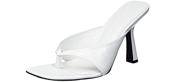 Sigerson Morrison Women's Classic - Heeled Flip Flops