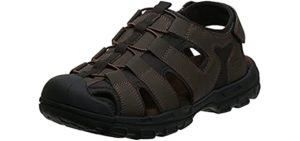 Skechers Men's Selmo Fisherman - Closed Toe Driving Sandals