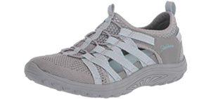 Skechers Women's Closed toe - Fisherman's Sandal for Morton's Neuroma