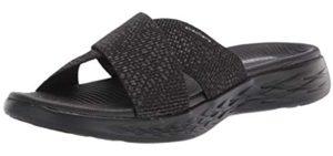 Skechers Women's On The Go 600 Slide - Sandals for Plantar Fasciitis
