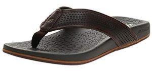 Skechers Men's Pelem Emiro - Sandals for Plantar Fasciitis Relief