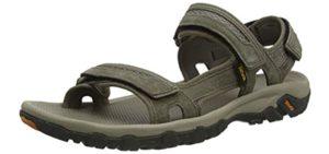 Teva Men's Hudson - Outdoor Sandals for Flat Feet