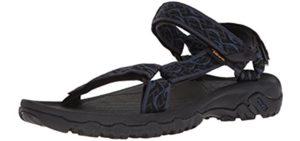 Teva Men's Hurricane 4 Sport - Outdoor Sandals for Plantar Fasciitis