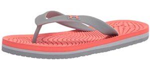 Under Armour Girl's Atlantic Dune - Flip Flops for Kids