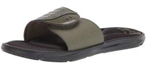 Under Armour Women's Freedom - Memory Foam Slide Sandals