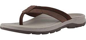 Vionic Men's Canoe Dennis - Comfortable Flip Flops