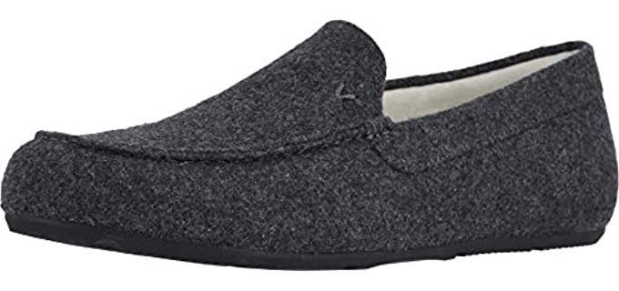Vionic Men's Borough Tomkin - Moccasin Slippers