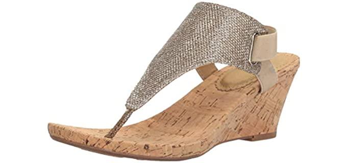 White Mountain Women's All Good - Navy Sandal
