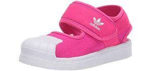 Adidas Girl's Original 360 - Sandals for Babies