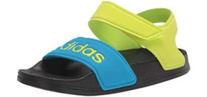 Adidas Boys's Adilette Closed - Toddler and Older Baby Sandal