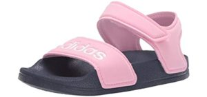 Adidas Girls's Adilette Closed - Toddler and Older Baby Sandal