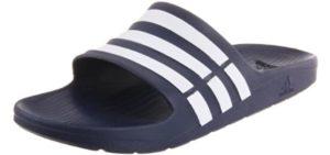 Adidas Women's Duramo - Comfort Slide Sandals