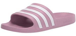 Adidas Women's Adilette Aqua - Water Friendly Slide Sandals